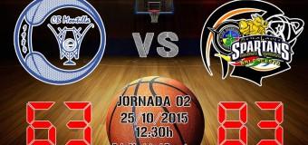 CRONICA J2ª| 1a Nacional 2015/16 | Galletino's Montilla vs CB Benahavís Costa del Sol