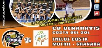 PREVIA J6ª| 1a Nacional 2015/16 | CB Benahavís Costa del Sol vs Eneluz CB Costa Motril (Granada)