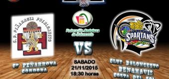 PREVIA J5ª| 1a Nacional 2015/16 | CP Peñarroya (Córdoba) vs CB Benahavís Costa del Sol