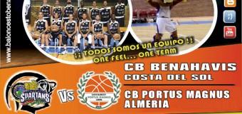 PREVIA J8ª| 1a Nacional 2015/16 | CB Benahavís Costa del Sol vs CB Portus Magnus (Almería)