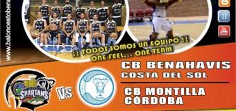 PREVIA J11ª| 1a Nacional Mas 2015/16 | CB Benahavís Costa del Sol vs CB Montilla (Córdoba)