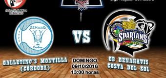 PREVIA J 2ª| 1a Nacional 2016/17 | Galletino's Montilla (Córdoba) vs CB Benahavís Costa del Sol