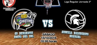 PREVIA J 3ª| 1a Nacional 2016/17 | CB Benahavís Costa del Sol vs Armilla Baloncesto (Granada)