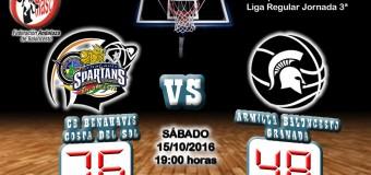 CRÓNICA J 3ª | 1a Nacional 2016/17 | CB Benahavís Costa del Sol vs Armilla Baloncesto (Granada)