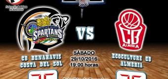 CRONICA J 5ª   1a Nacional 2016/17   CB Benahavís Costa del Sol vs EcocultureCB Almería