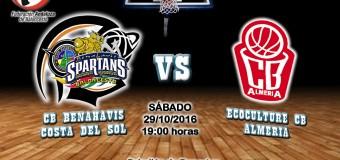PREVIA J 5ª   1a Nacional 2016/17   CB Benahavís Costa del Sol vs Ecoculture CB Almería
