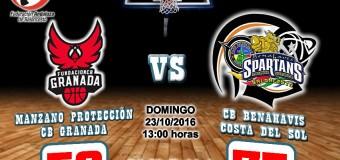 CRONICA   J 4ª   1a Nacional 2016/17   Manzano Protección CB Granada vs CB Benahavís Costa del Sol