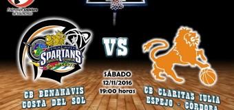 PREVIA J 7ª   1a Nacional 2016/17   CB Benahavís Costa del Sol vs CB Claritas Iulia (Espejo – Córdoba)