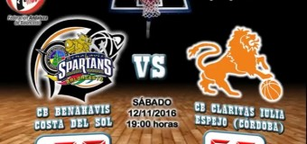 CRONICA J 7ª   1a Nacional 2016/17   CB Benahavís Costa del Sol vs CB Claritas Iulia (Espejo-Córdoba)