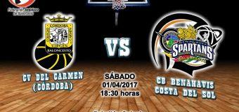 PREVIA J 23ª | 1a Nacional 2016/17 | CV Del Carmen (Córdoba) vs CB Benahavís Costa del Sol