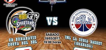 CRONICA J 21ª | 1a Nacional 2016/17 | CB Benahavís Costa del Sol vs IML La Zubia Basketball (Granada)