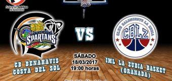 PREVIA J 21ª | 1a Nacional 2016/17 | CB Benahavís Costa del Sol vs IML La Zubia Basketball (Granada)