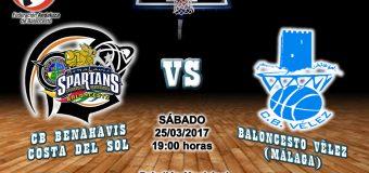 PREVIA J 22ª | 1a Nacional 2016/17 | CB Benahavís Costa del Sol vs Baloncesto Vélez (Málaga)