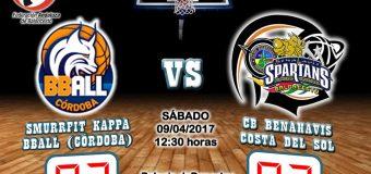CRÓNICA J 24ª | 1a Nacional 2016/17 | Smurrfit Kappa BBall Córdoba vs CB Benahavís Costa del Sol