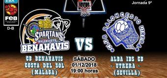 PREVIA | EBA (D-B) 18/19 | J-9ª > CB Benahavís Costa del Sol vs Alba IBS CB Utrera (Sevilla)