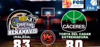 CRONICA | EBA (D-B) 18/19 | J-6ª > CB Benahavís Costa del Sol vs Torta del Casar Extremadura
