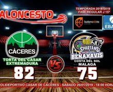 CRÓNICA| EBA (D-B) 18/19 | J-15ª > Torta del Casar Extremadura vs CB Benahavís Costa del Sol