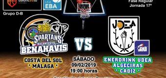 PREVIA | EBA (D-B) 18/19 | J-17ª > CB Benahavís Costa del Sol vs EnerDrink UDEA Algeciras (Cádiz)