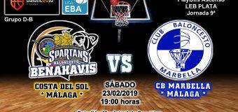PREVIA EBA D 18/19> PlayOffs Ascenso Leb Plata | J-9ª > CB Benahavís Costa del Sol vs CB Marbella