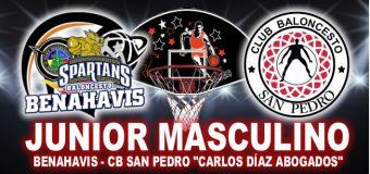 """Empieza la Fase """"PLATA"""" para el equipo Junior Masculino """"Benahavis-CB San Pedro Carlos Díaz Abogados"""""""