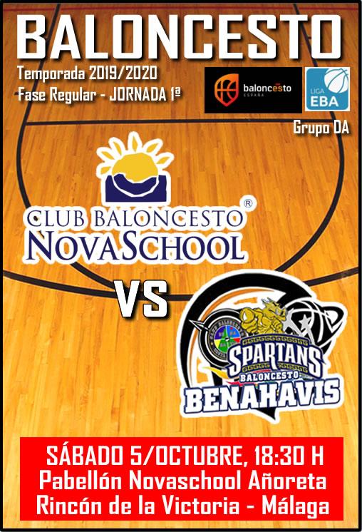 PREVIA | EBA (D-A) 19/20 | J-1ª > Novaschool vs CB Benahavís Costa del Sol