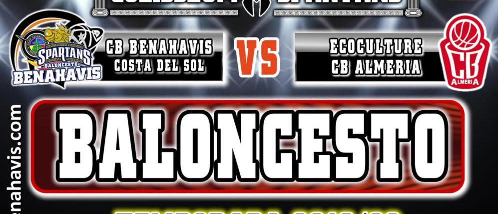 PREVIA   EBA (D-A) 19/20   J-2ª > CB Benahavís Costa del Sol vs Ecoculture CB Almeria