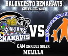 PREVIA | EBA (D-A) 19/20 | J-12ª > CB Benahavís Costa del Sol vs CAM Enrique Soler (Melilla)