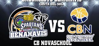 PREVIA | EBA (D-A) 19/20 | J-10ª > CB Benahavís Costa del Sol vs CB Novaschool