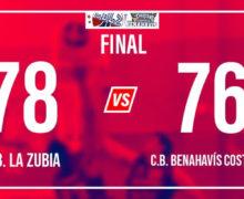 CRÓNICA | EBA (D-A) 19/20 | J-14ª > CB La Zubia (Granada) vs CB Benahavís Costa del Sol