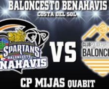 PREVIA | EBA (D-A) 19/20 | J-15ª > CB Benahavís Costa del Sol vs CP Mijas Quabit